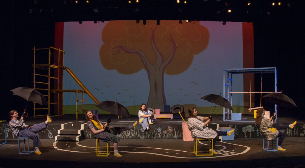 Set, Lighting, Props and Projections by Lara Lotze, Photography by Kade Mendelowitz